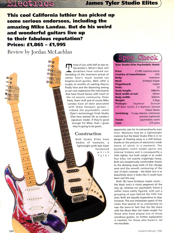 1996 Guitarist - Feb.