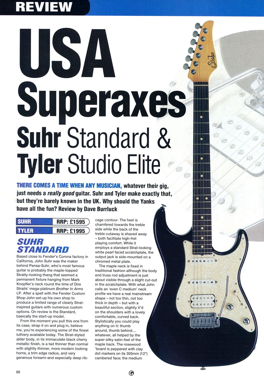 Copy of 1999 Guitar Magazine - Nov.