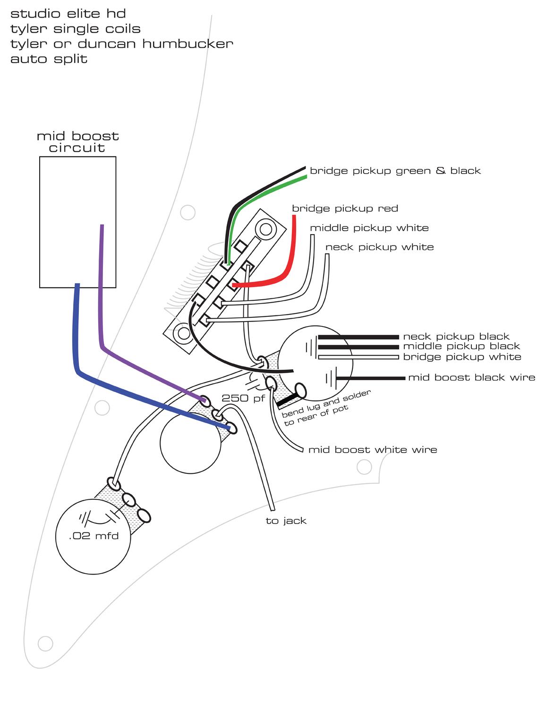 3 Wire Single Coil In Series Diagram