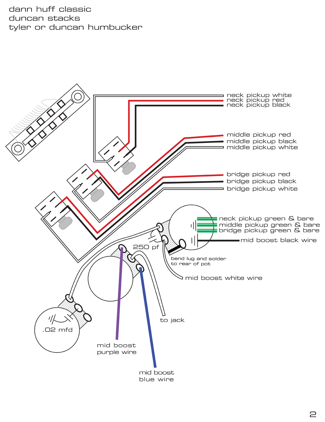 Classic Dann Huff Wiring Diagram Page 2.jpg