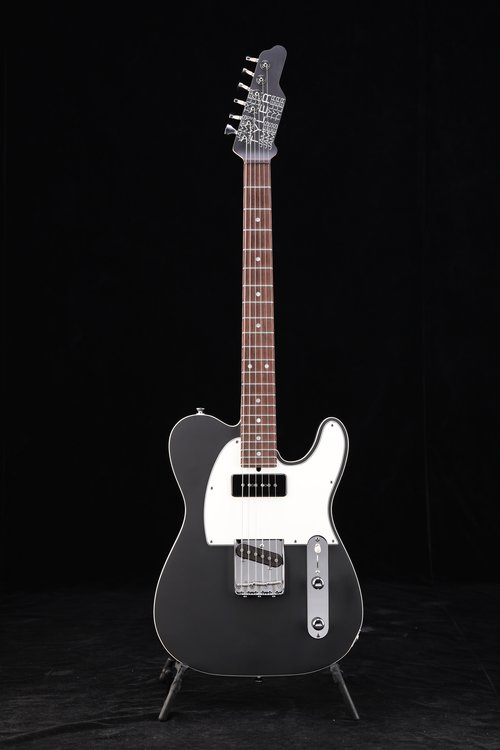 BBQ Black, Matching Headstock