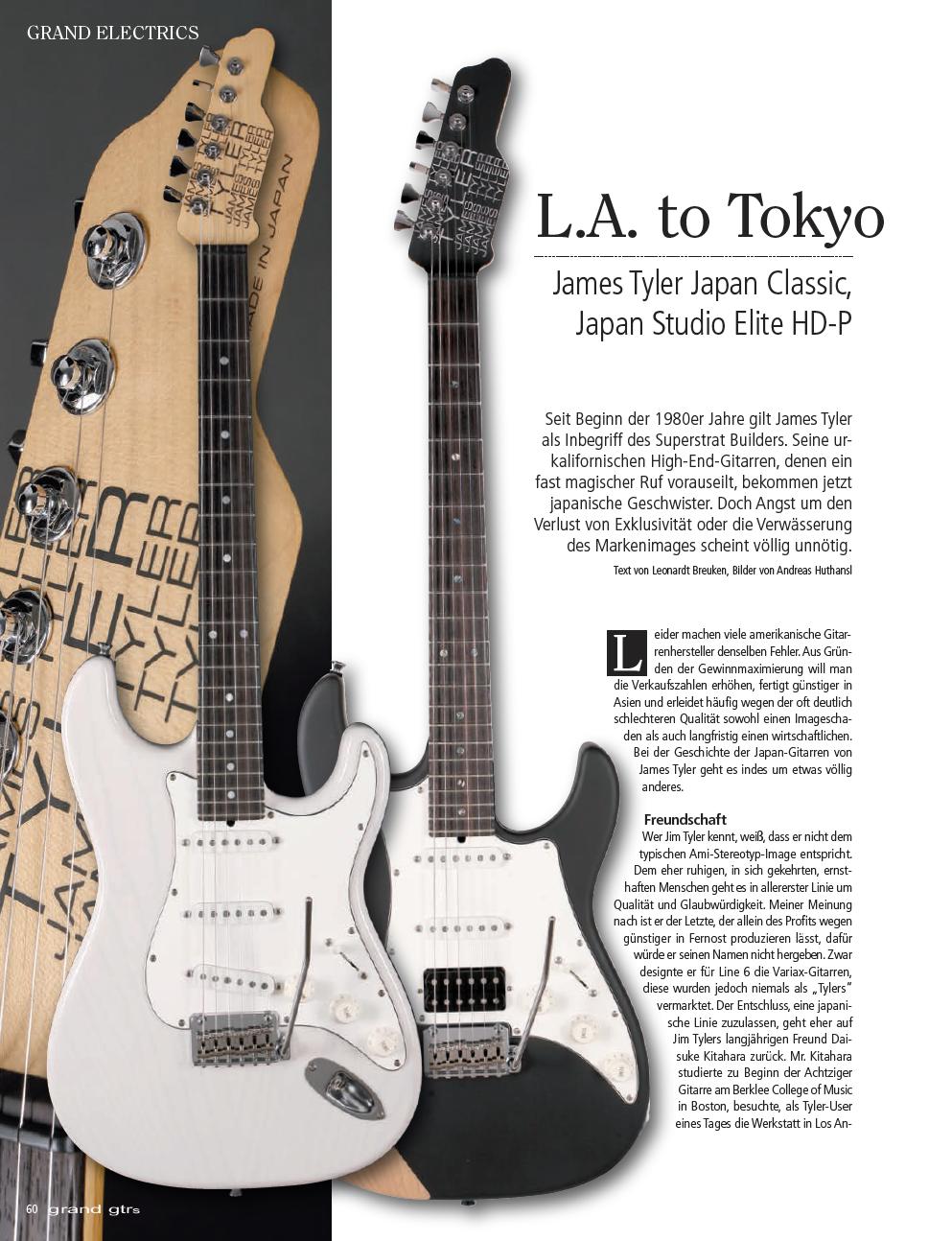 2017 Grand Guitars