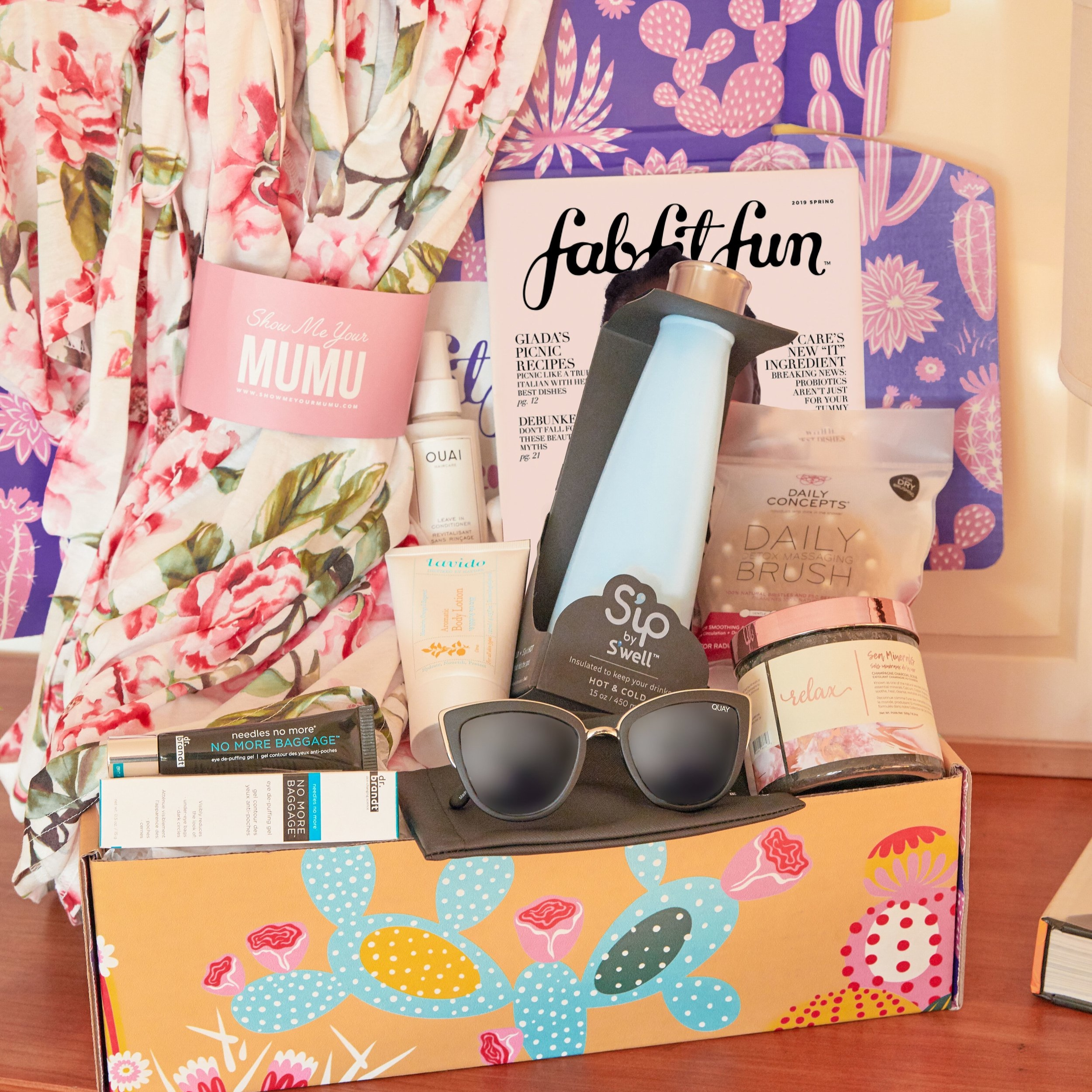 Fab Fit Fun Box - There's something nice about having all the season's essentials in beauty, healthy, and wellness delivered to your door without having to lift a finger!Get $10 off your box today with code WELCOME10