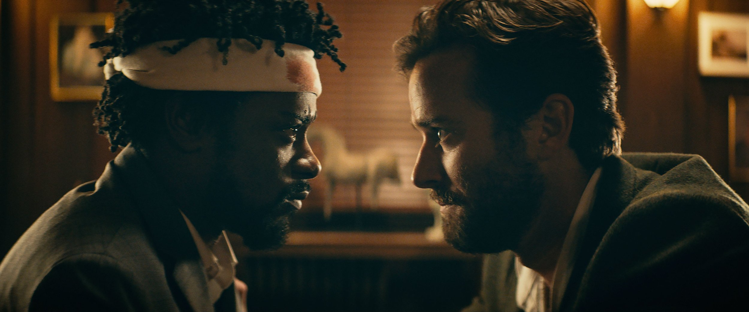 Lakeith Stanfield and Armie Hammer | Annapurna Pictures