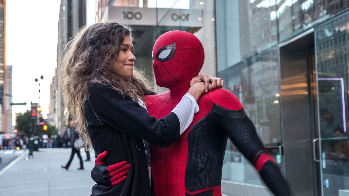 Zendaya and Tom Holland in  Spider-Man: Far From Home  | Sony Pictures Releasing