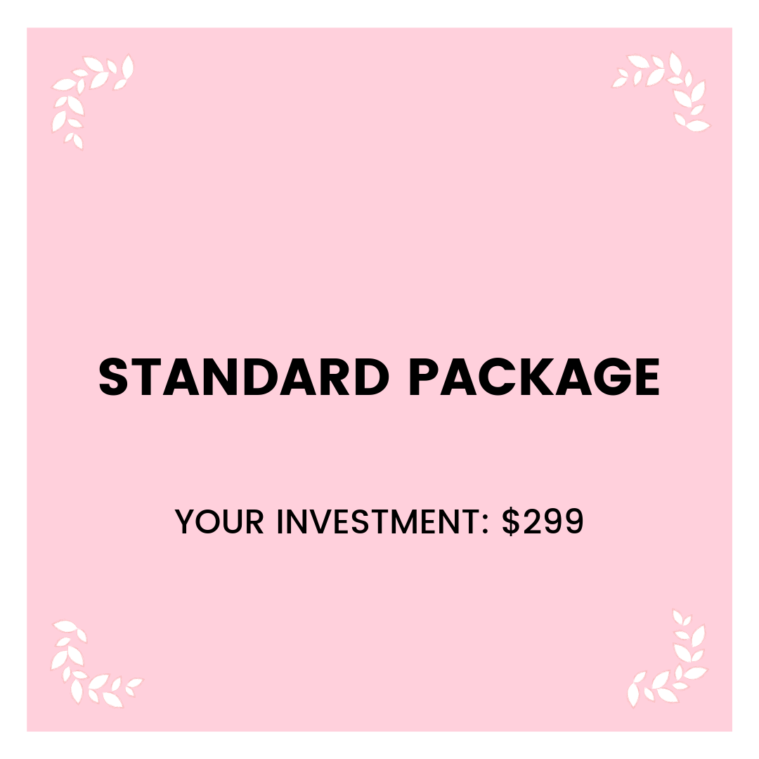 Four   45 min Sessions   Hassle free scheduling & billing  Monthly Progress Summary     Your Investment:  $299