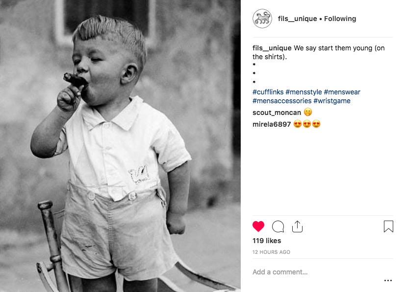 Fils Unique Instagram
