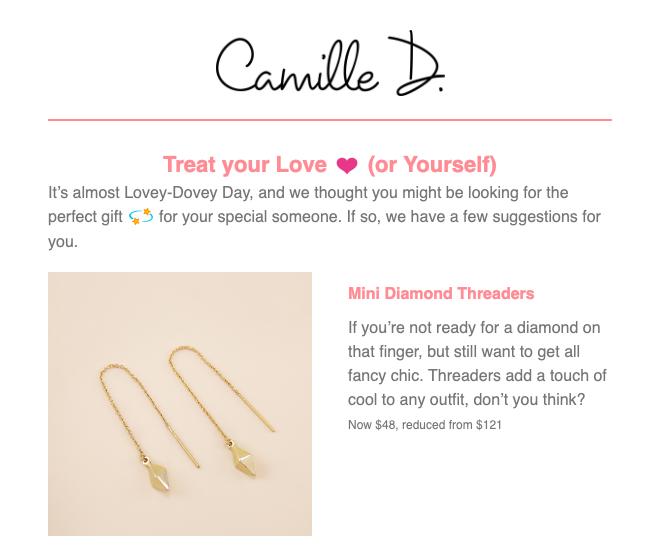 jewelry newsletter