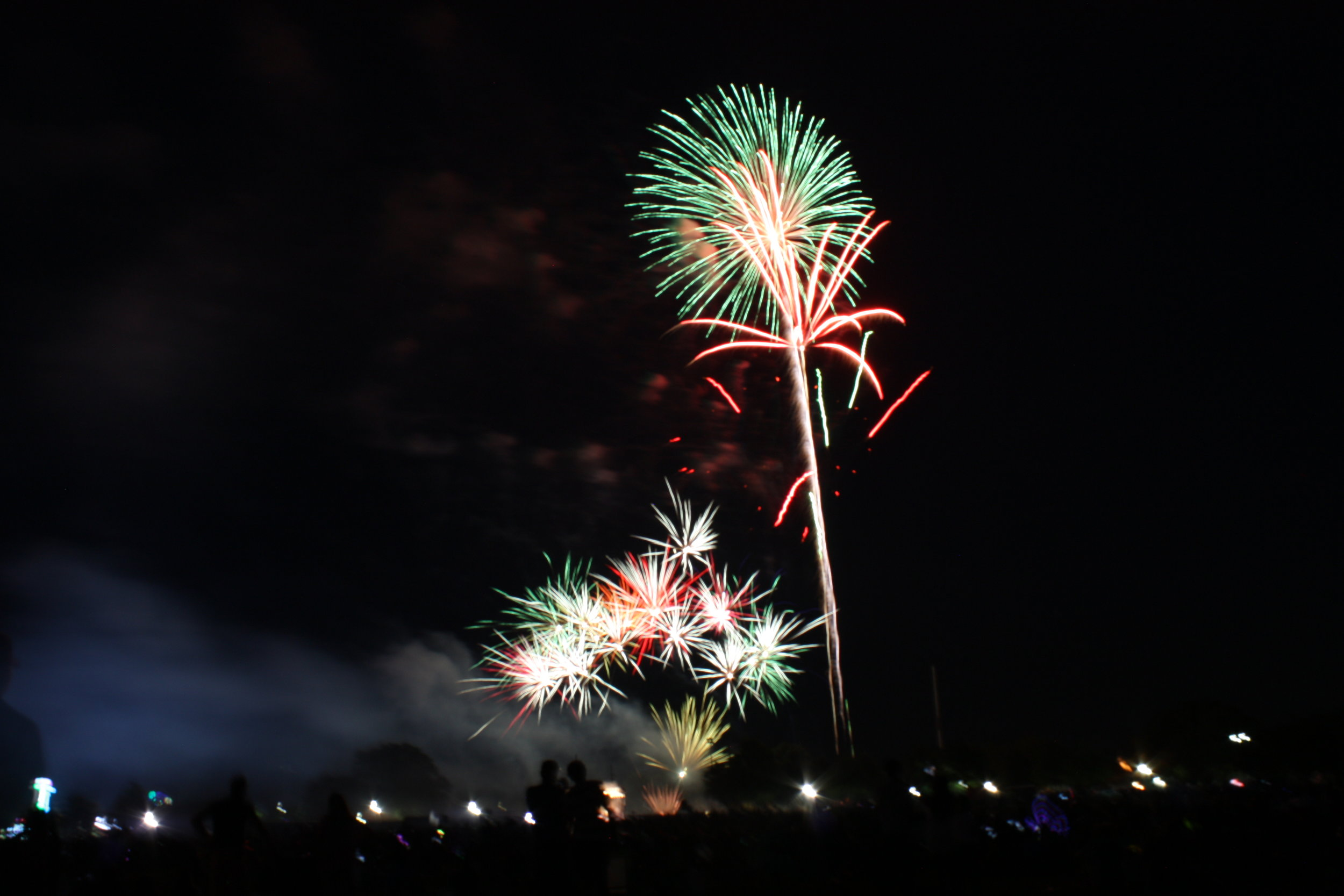 July 4th fireworks at Harbor Island 2019