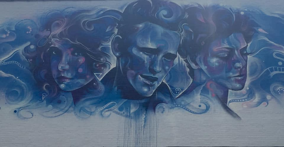 A Storied Art Scene by Mr Cenz of the Great Britain