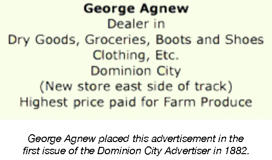 George Agnew Advert.png