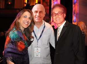 Left to Right: Lynn Orman Weiss, Scott Taradash, Michael Frank