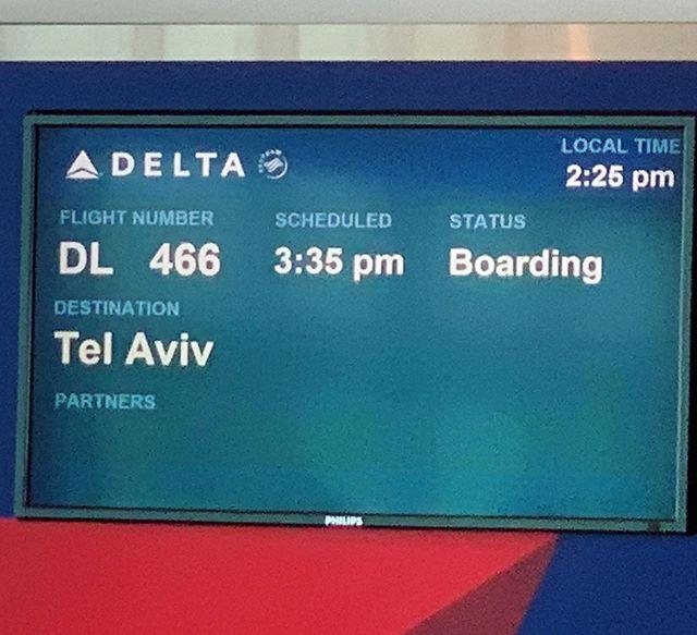 It's happening, bitches! Off to go find my Jewish bride #Birthright #FreeTrip #Jews #HolyLand