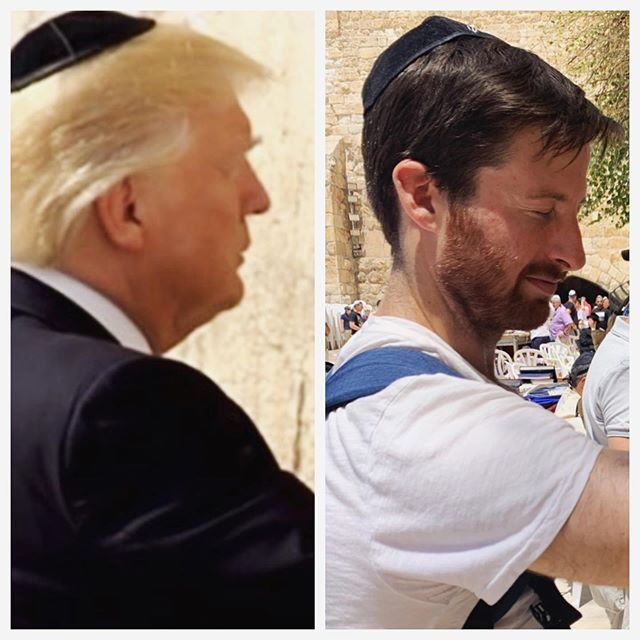 Who wore it better? #TheWesternWall #Israel