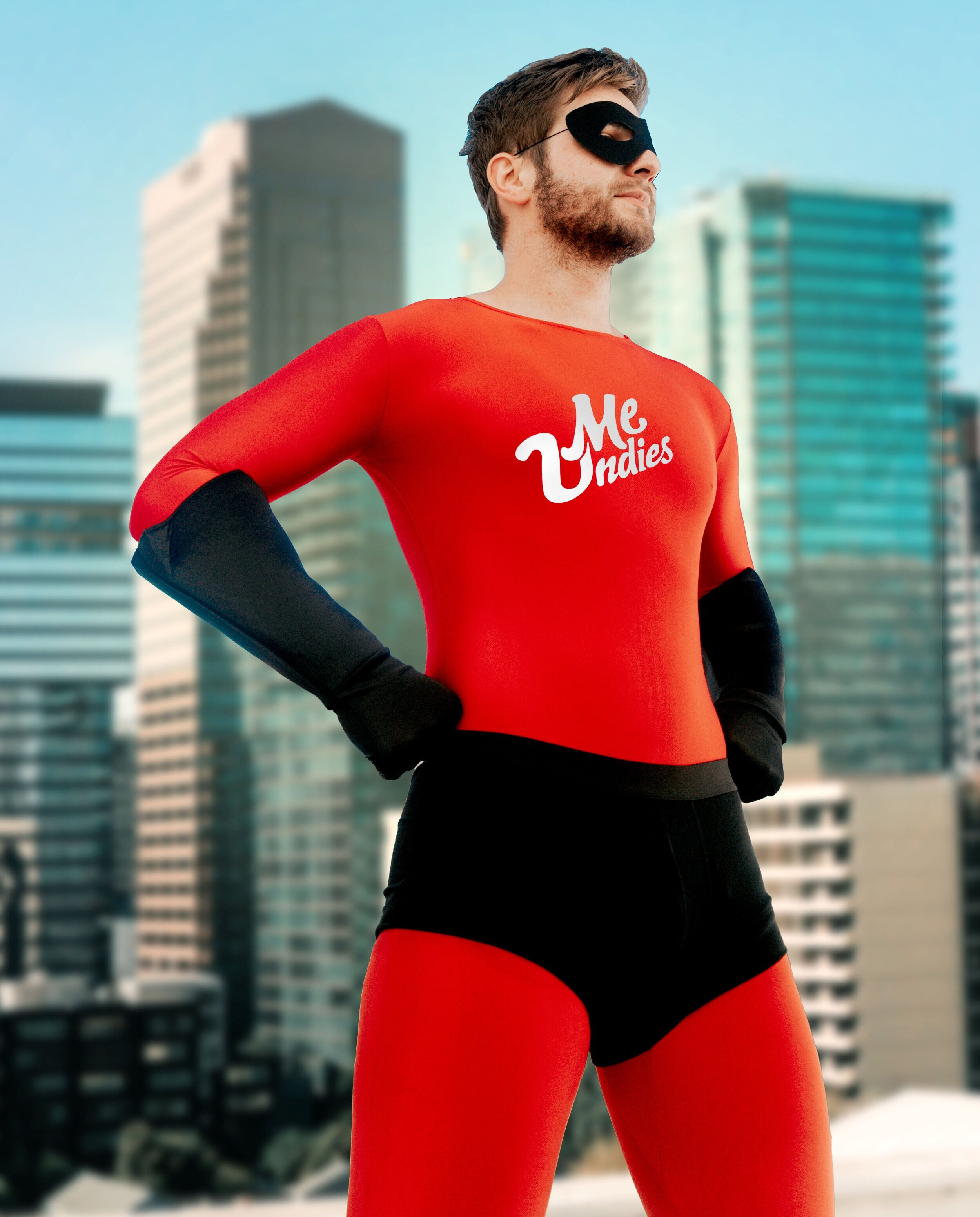Incredibles - The sequel we all needed. What superhero doesn't wear Undies over their outfit? None. Yeah, so suit up in red and complete the heroic look with our simple black Undies in any cut you want. We prefer classic Briefs.