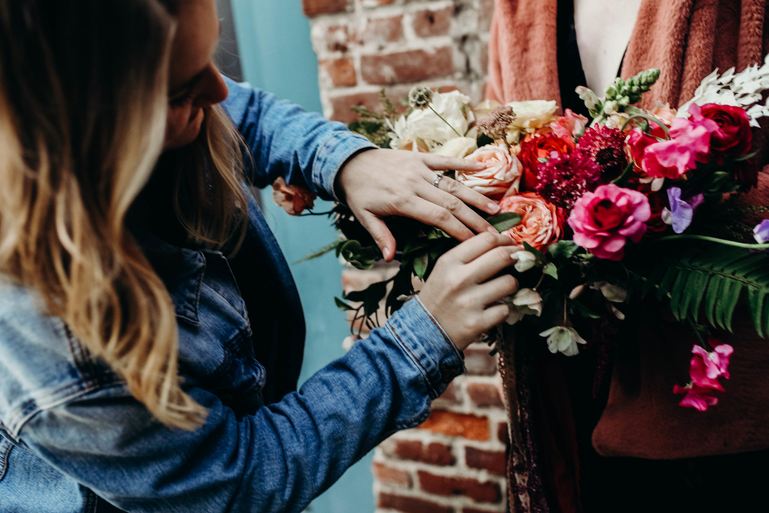 Let's Chat! - Take a minute and fill out some basic information about your wedding or event below. We'll then email you a more detailed questionnaire about all the deets!Every floral proposal is completely custom and we'll do our best to work with you and your budget to help bring your vision to life. We're here to help, and we look forward to getting to know you!