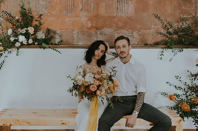 This. Shoot. Was. So. Fun 👏🏼👏🏼 thank you @floral_gathering for giving us such a beautiful opportunity.  Just finished up a double header weekend and headed into another. October is not for the faint of heart in wedding world 🤘🏼😅 ⠀⠀⠀⠀⠀⠀⠀⠀⠀⠀⠀⠀ event: @floral_gathering  photographer: @marcellalaine models: @erynleanne + @mr.hanes venue: @wilburnstreetstudio dress: @thedresstheorynashville Muah: @elartistry  Video: @jessicaheron_images