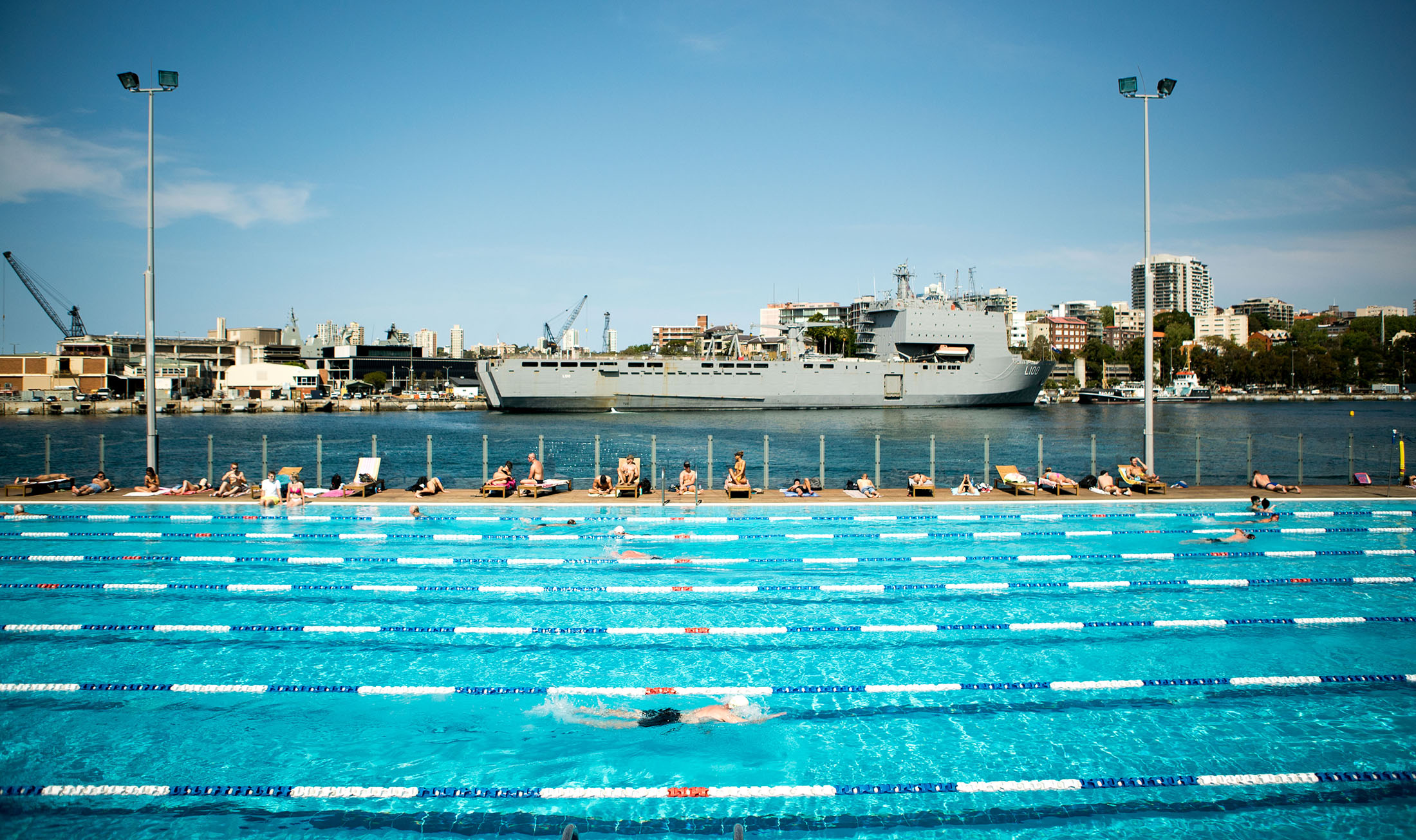 """Andrew Boy Charlton Pool (ABC) is our go-to place for an inner-city swim on the harbour - a true Sydney experience."" Image by Places We Swim"