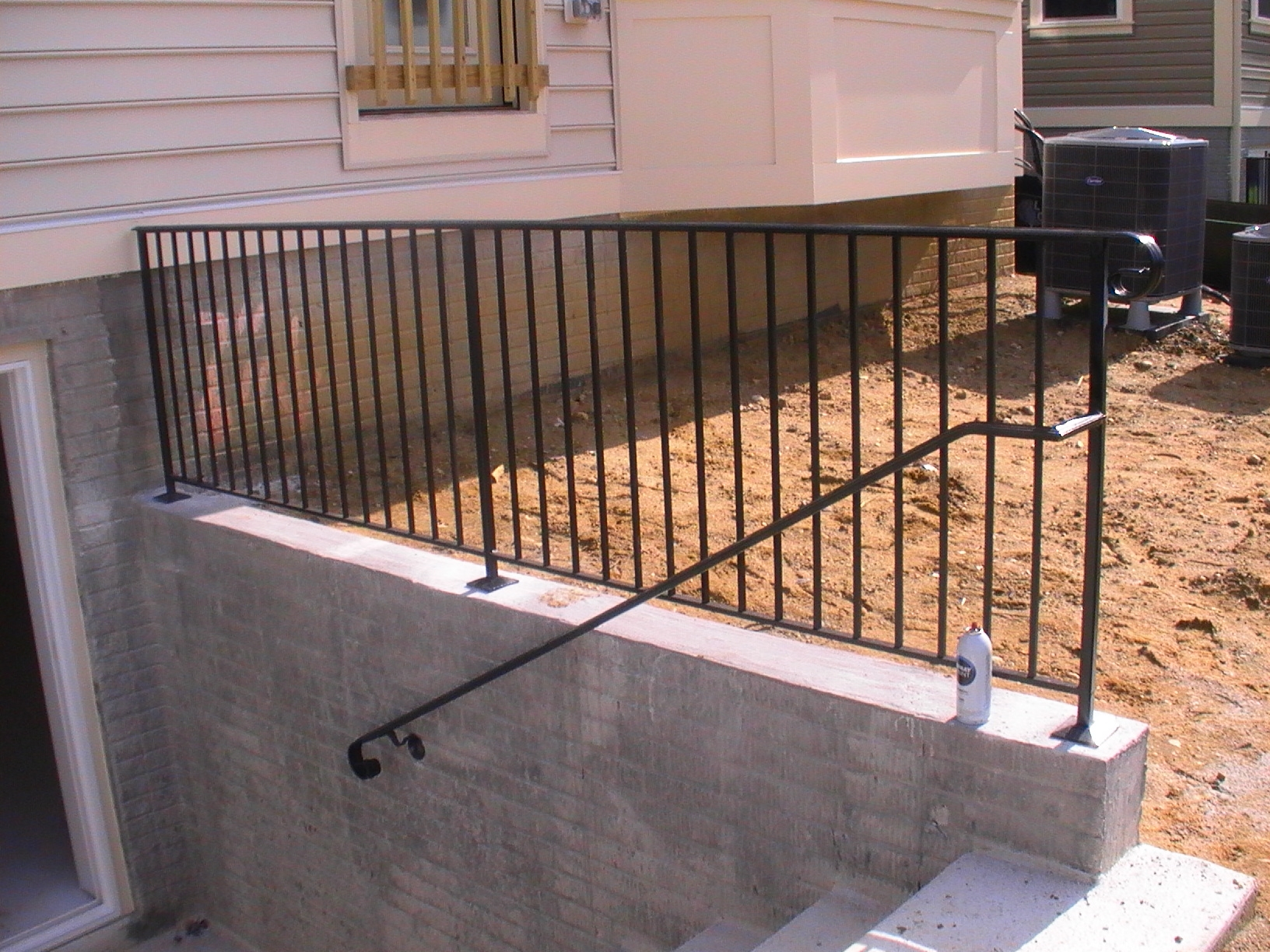 Past Project # 87 -Areaway or Retaining wall rail.JPG
