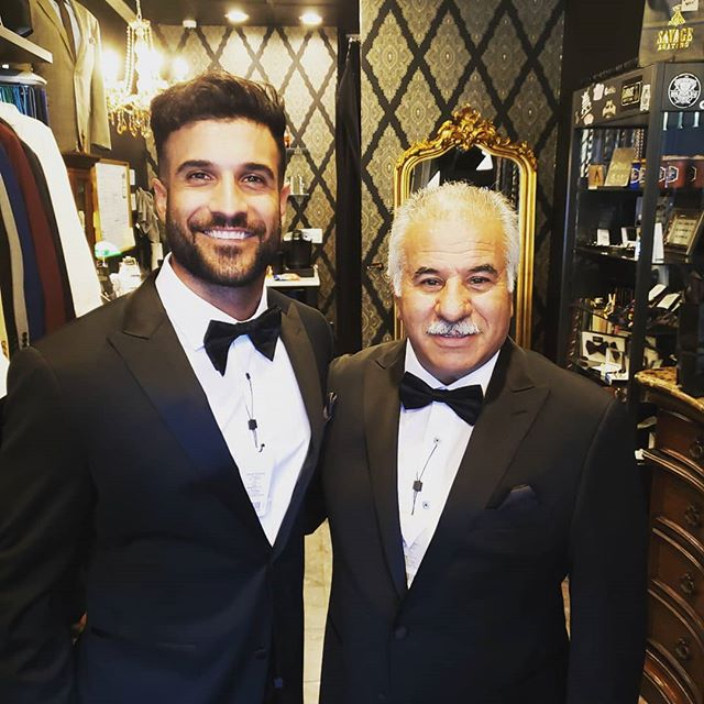 Father and Son matching custom TUXEDOS were beyond perfect for these 2. It was truly an honor to make our clothing for such a good friend. @shardaddjahangiry you and dad looked incredible. You and your bride are a beautiful couple. Thank you for letting us be apart of your day. ☠☠ BE A SAVAGE