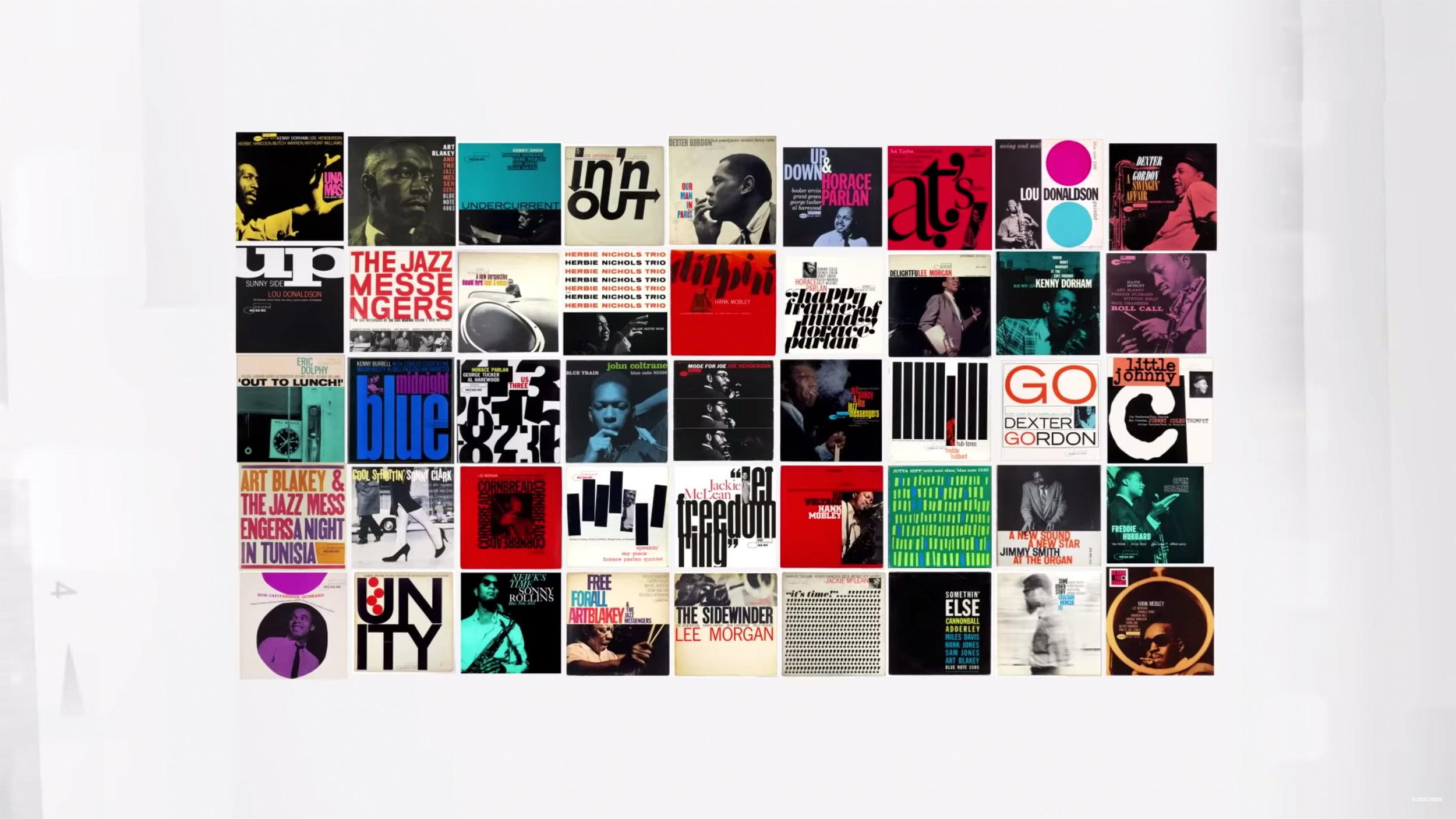 07.  The Greatest Album Covers of Jazz