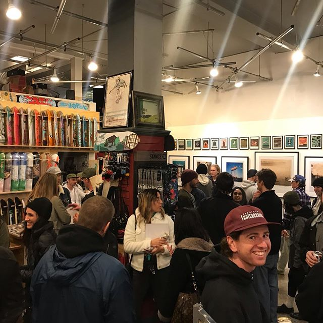 Thank you to everyone who joined the party last night @35thnorth for the latest installment of the @postcardsandpolaroids_show Great times! ❤️🎉🍻 #seattle #art #photography #postcardsandpolaroids #35thnorth #travel #design #polaroid #instantphotography #polaroids #skateboarding #travelphotography #artshow #illustration #packpeelpour #instantfilmsociety #filmphotographic #polaroidoriginals #mintcamera #spitfirewheels #conversecons #dlxsf #theroadislife