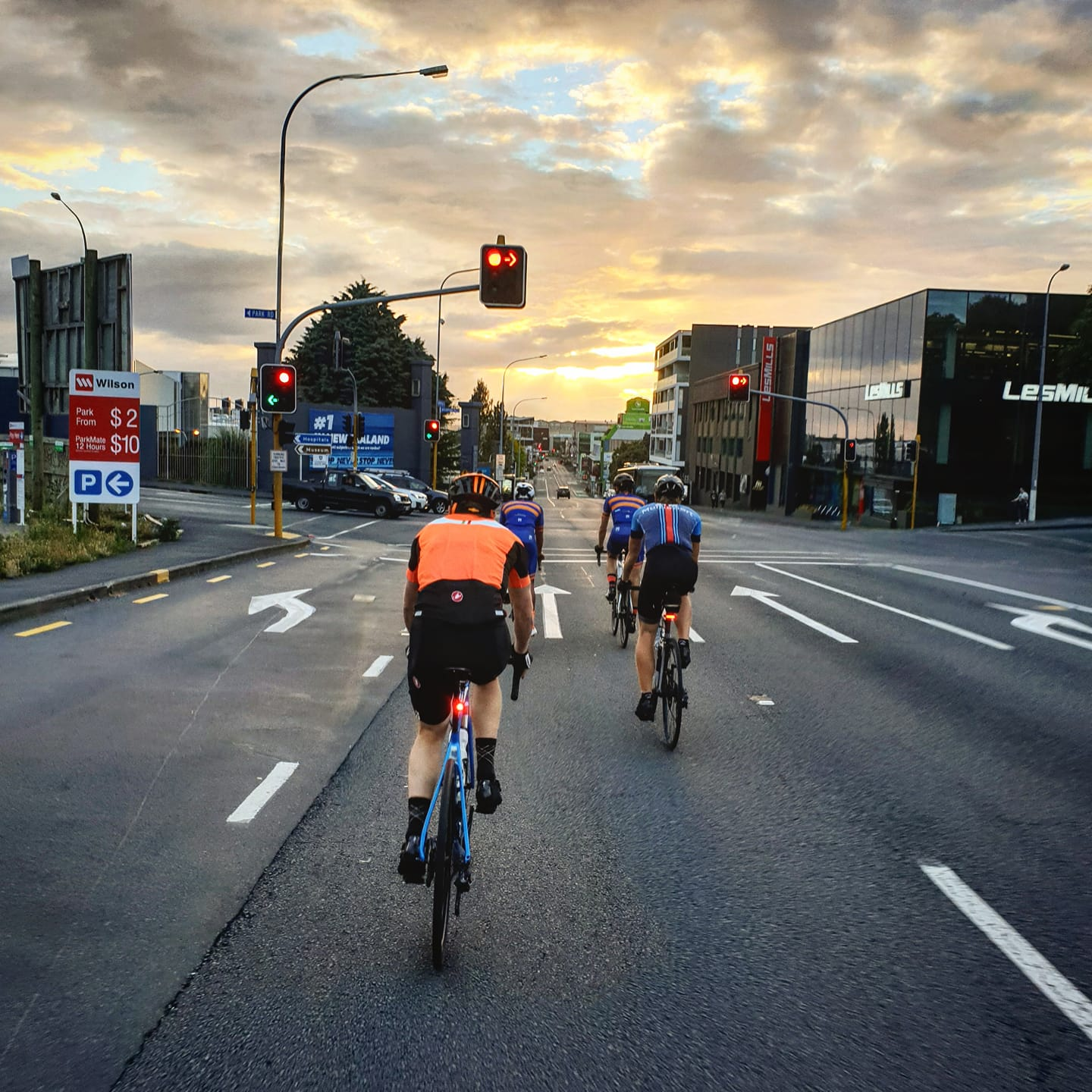 Road Rides - Saturday 7am CYCO / 7:10am BNZ New MarketWednesday 6am CYCOGroup One: 34km/h+ avgGroup Two: 30km/h avg