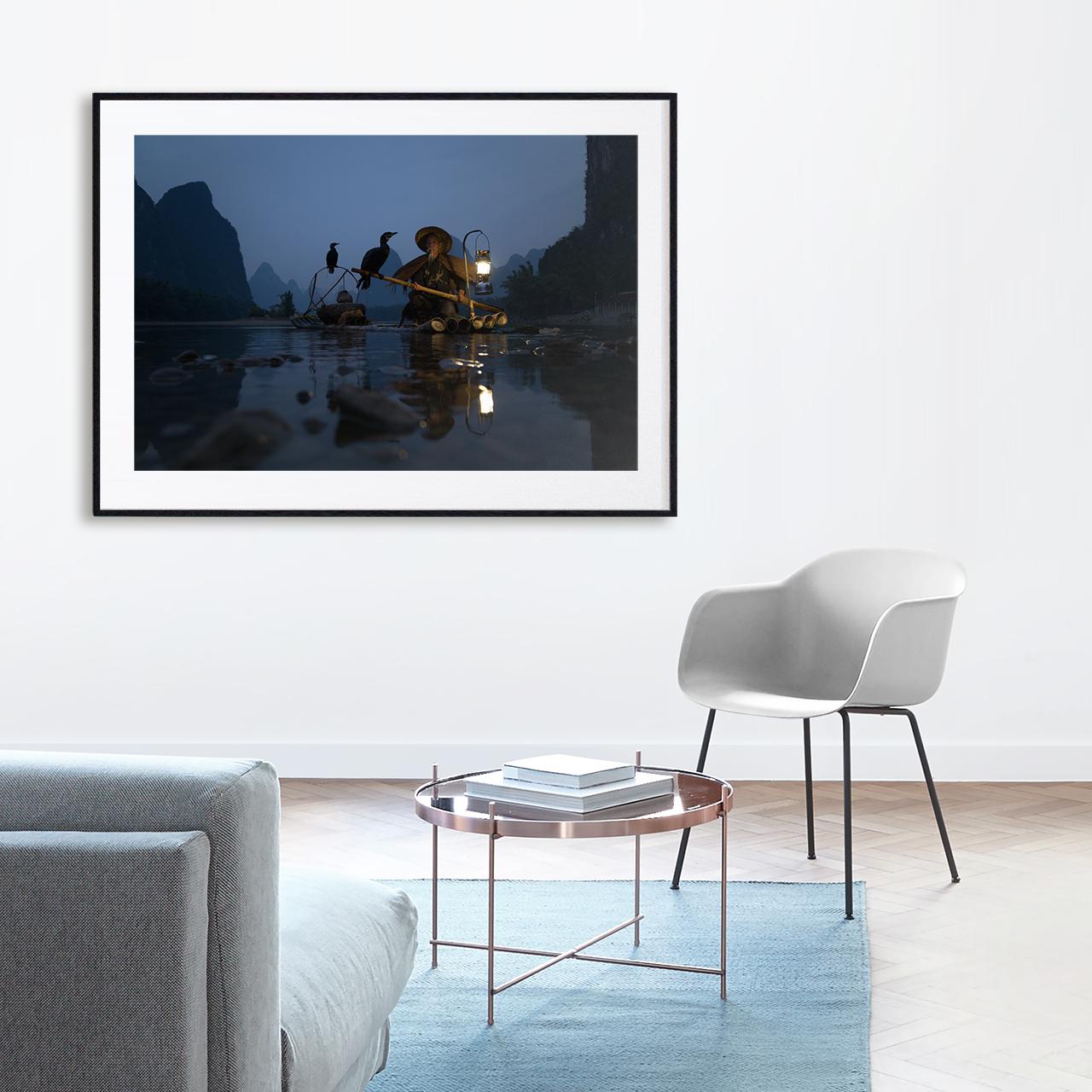 Cormorant fisherman -