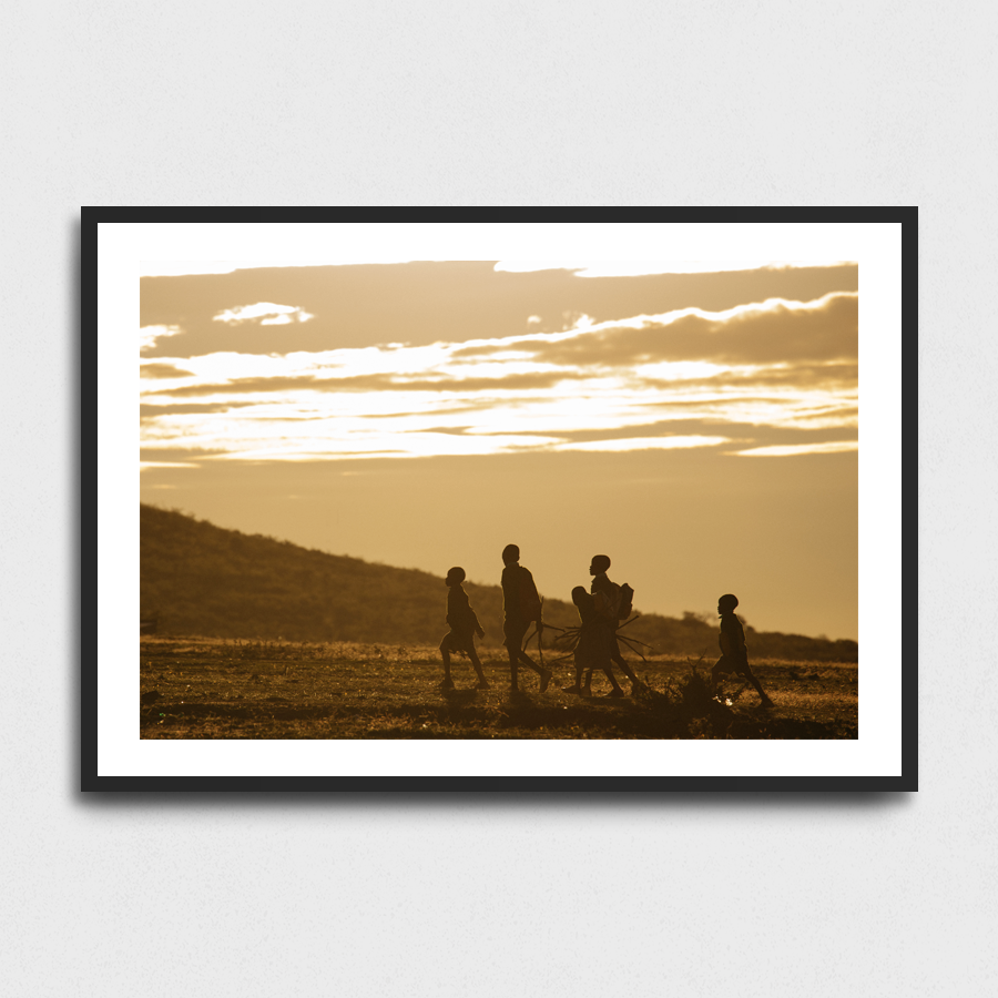 Back to school - Maasai Mara, Kenya3 Sizes:• 10x8/254x204mm• 20x16/508x407mm• 48x36/1219x914mmSupplied unframedFrom £56 to £267
