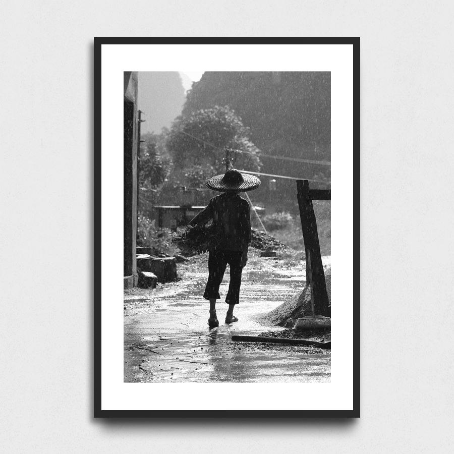 Rainy day - Yangshuo, Guangxi Province, China3 Sizes:• 10x8/254x204mm• 20x16/508x407mm• 48x36/1219x914mmSupplied unframedFrom £56 to £267