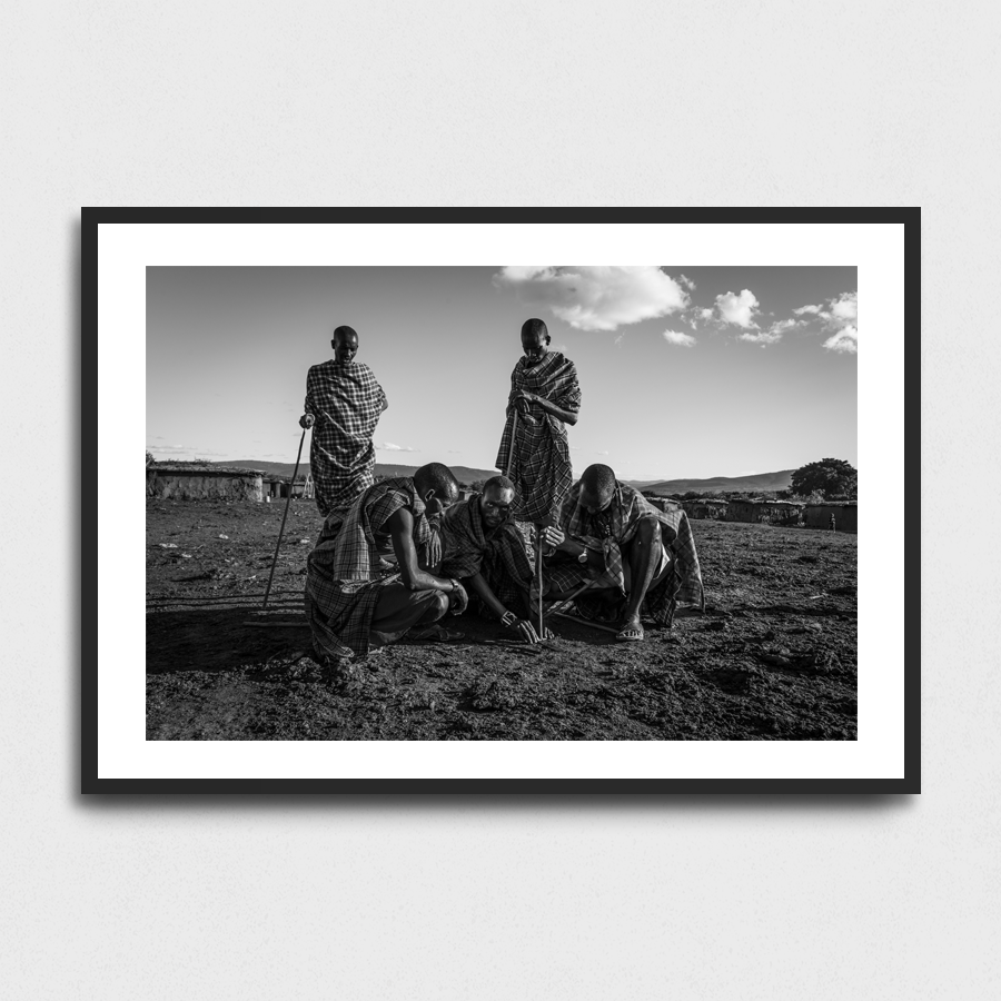 Fire - Maasai Mara, Kenya3 Sizes:• 10x8/254x204mm• 20x16/508x407mm• 48x36/1219x914mmSupplied unframedFrom £56 to £267