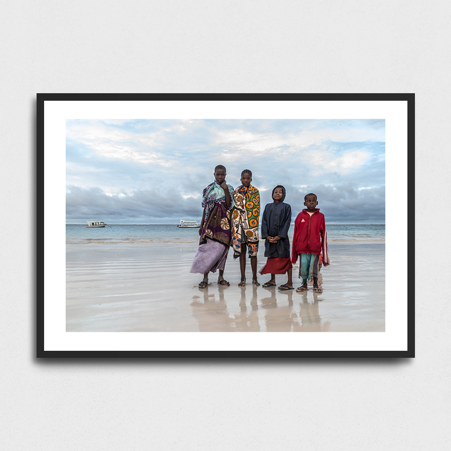 Beach kids - Mombassa, Kenya3 Sizes:• 10x8/254x204mm• 20x16/508x407mm• 48x36/1219x914mmSupplied unframedFrom £56 to £267