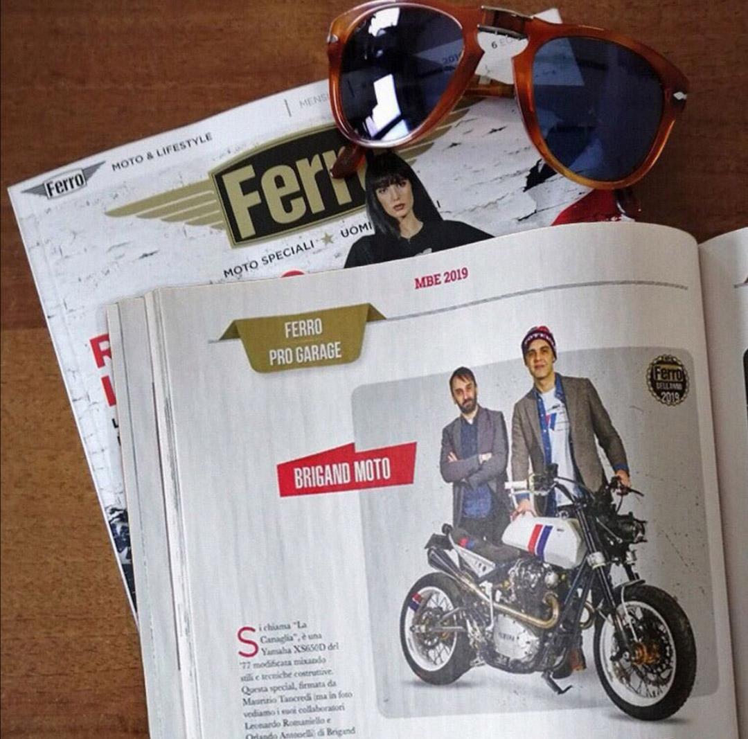 La Canaglia  Prize Pro Garage featured on Ferro #40