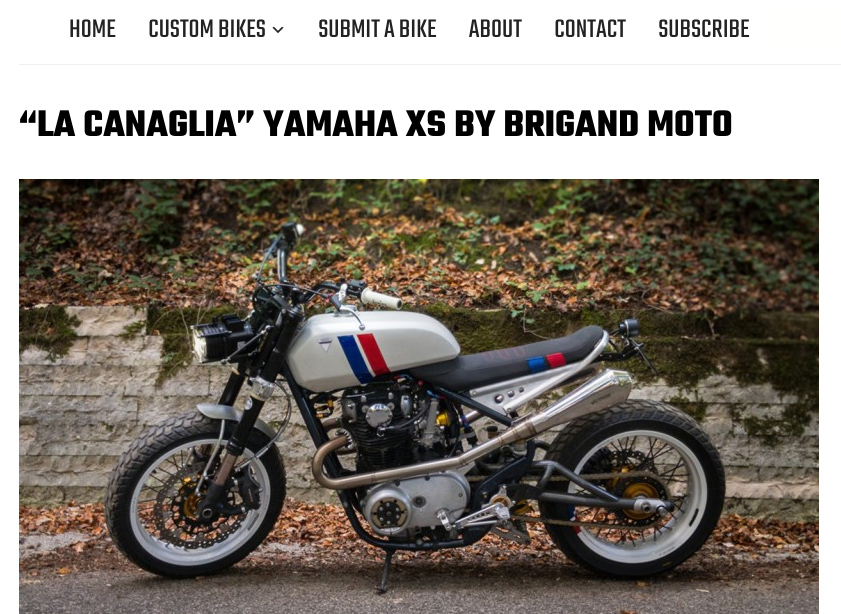 La Canaglia Featured on BikeBound Blog