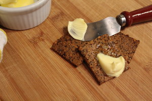 Parmesan and Seed Crackers