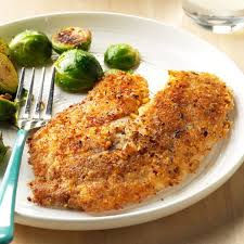 Coconut-Pecan Encrusted Fish