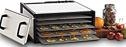 Excalibur 5-Tray Stainless Steel w/Stainless Trays Model D500SHD