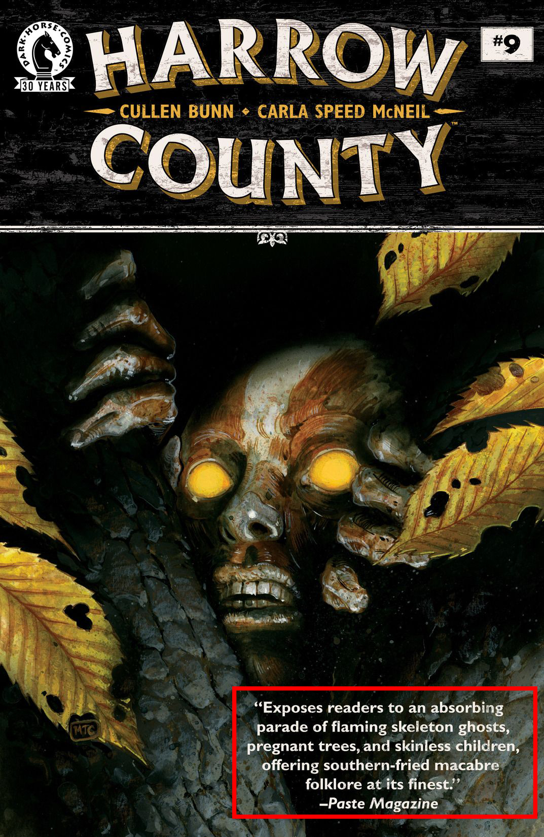 Harrow County  #9, by Cullen Bunn and Carla Speed McNeil