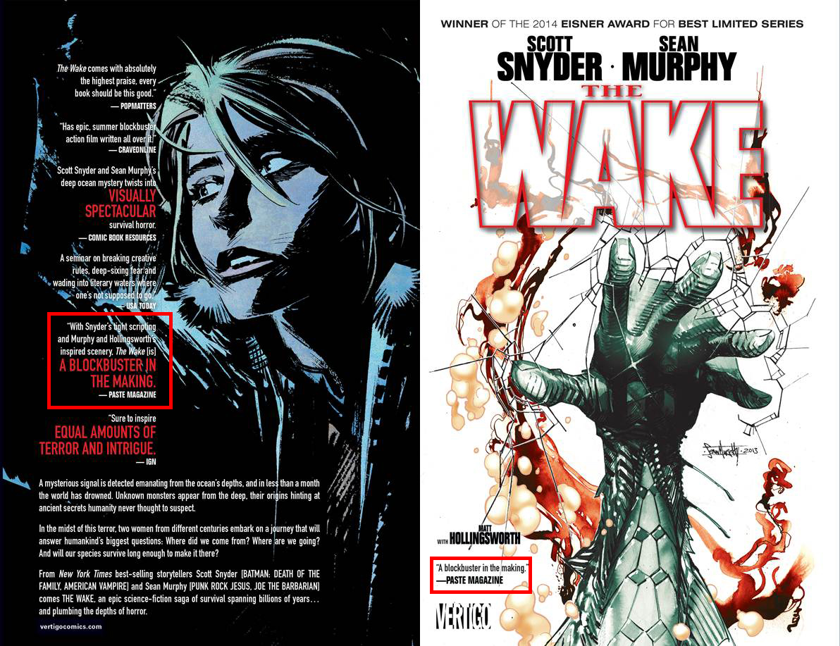 The Wake  TPB, by Scott Snyder and Sean Murphy