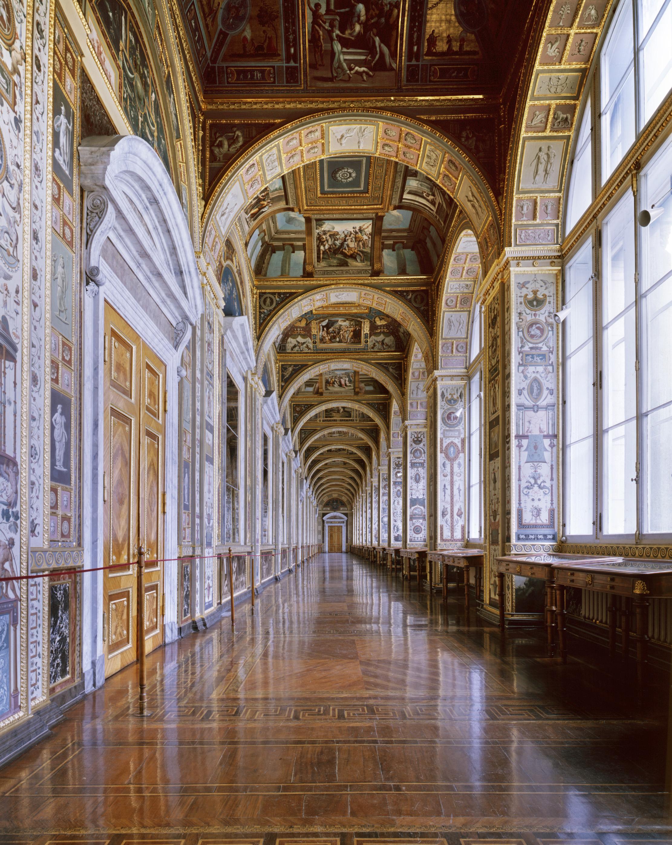 Galerie des Loges de Raphaël, Musée de l'Ermitage - Saint-Pétersbourg 2008
