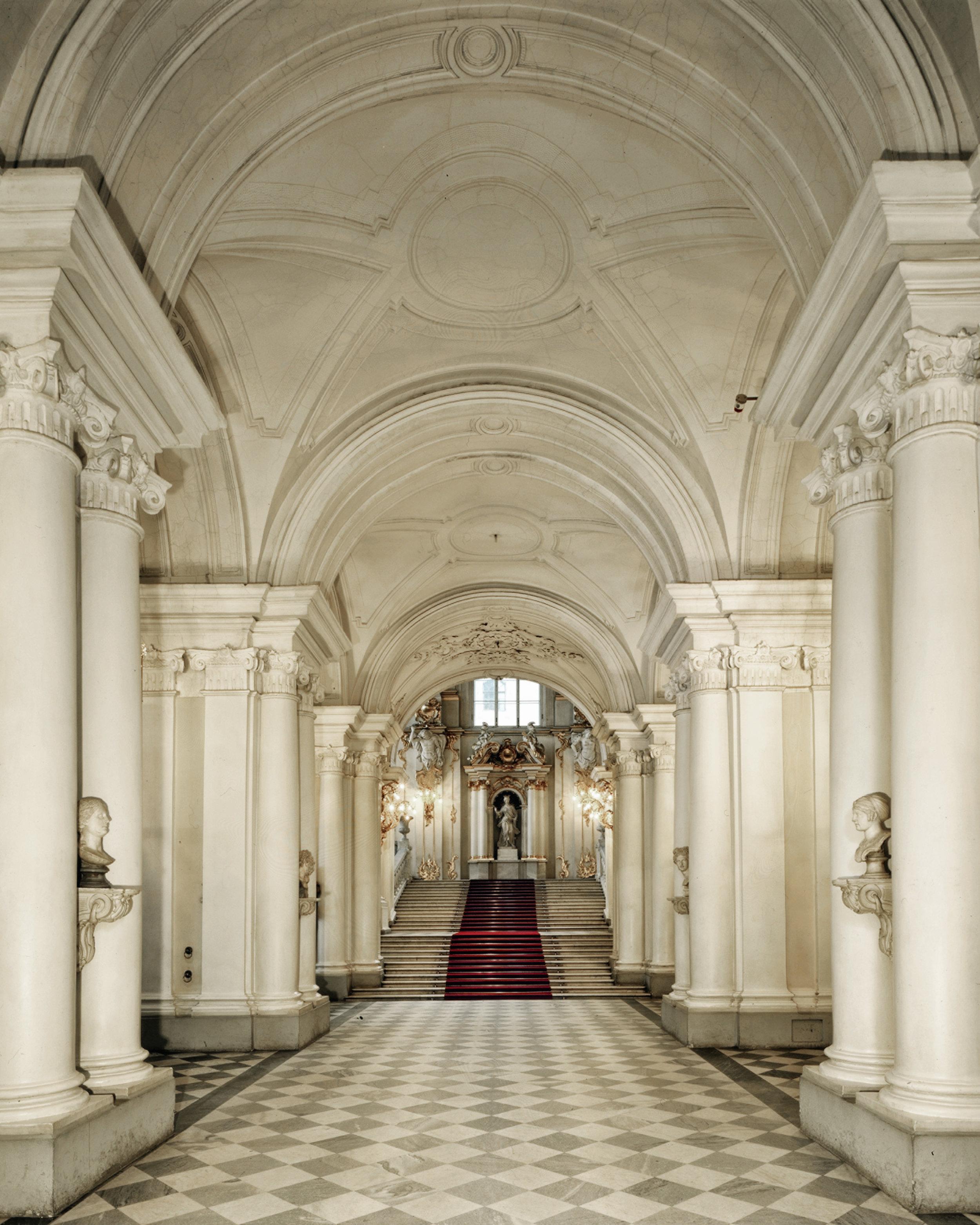 Couloirs de l'Ermitage - Saint-Pétersbourg 2008
