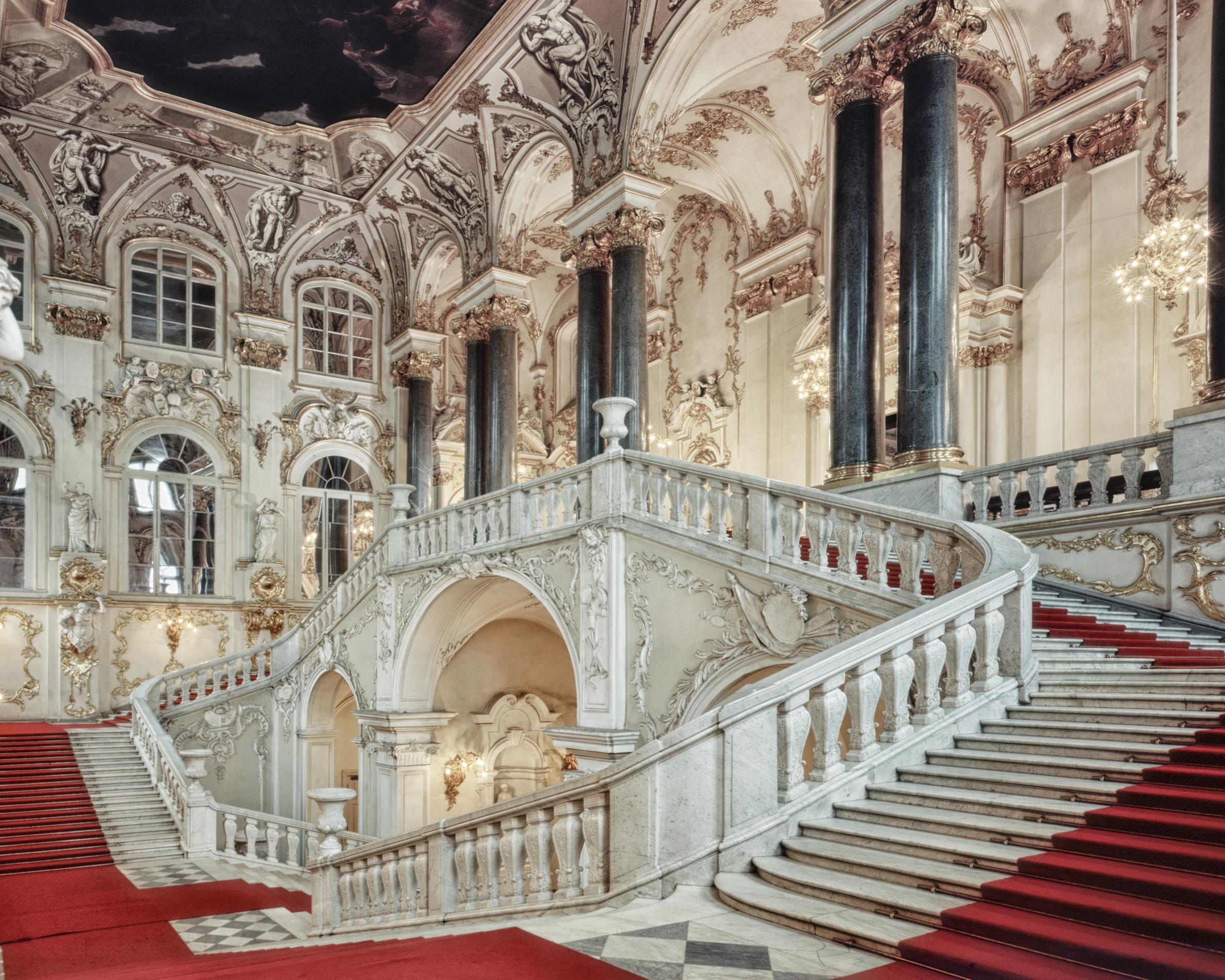 Escalier des Ambassadeurs, Musée de l'Ermitage - Saint-Pétersbourg 2008