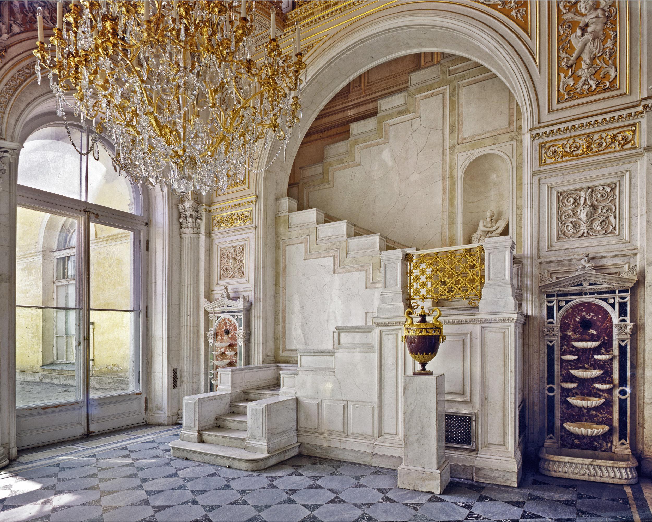 Salle du Pavillion, Musée de l'Ermitage - Saint-Pétersbourg 2008