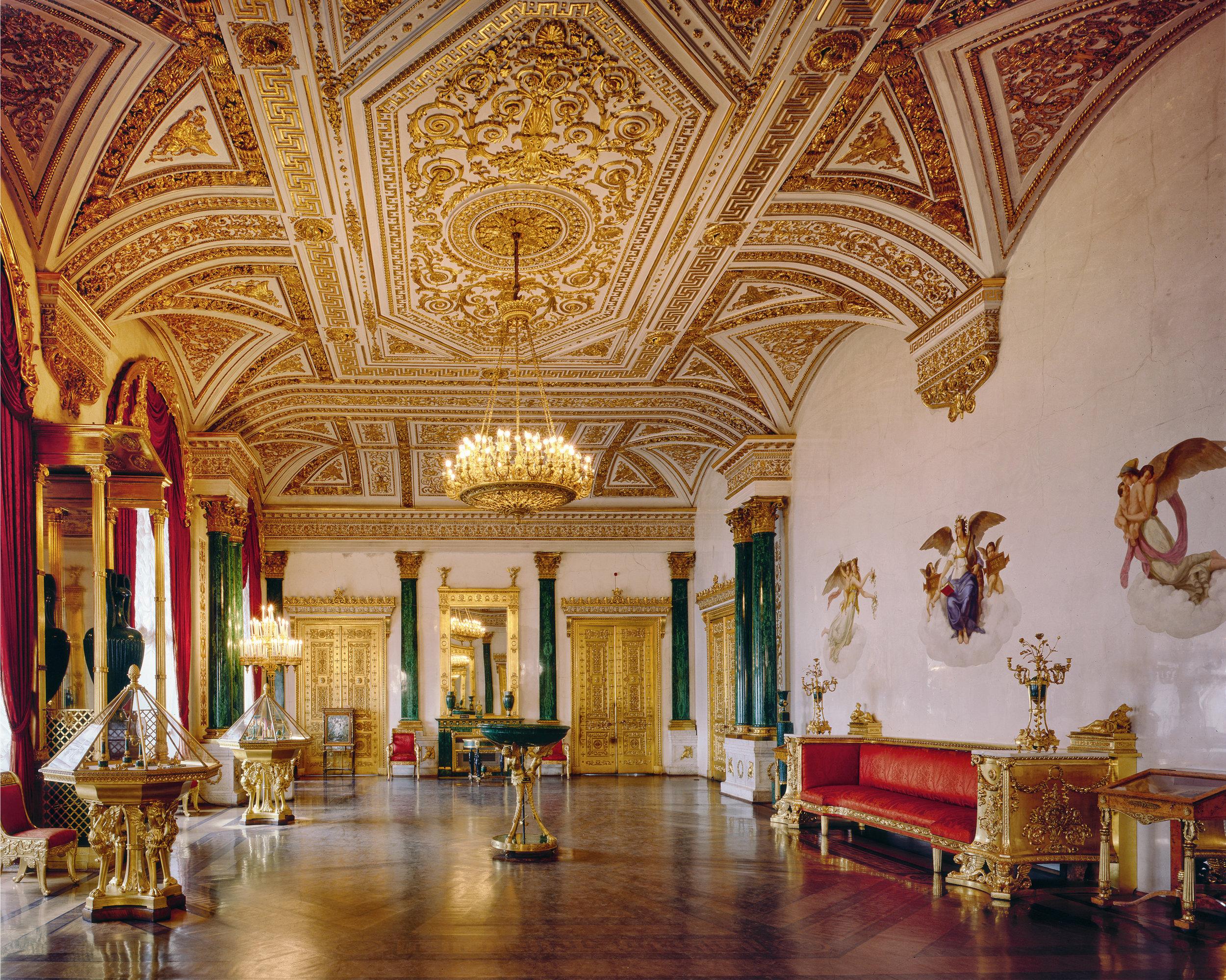 Salle Ermitage, Musée de l'Ermitage - Saint-Pétersbourg 2008