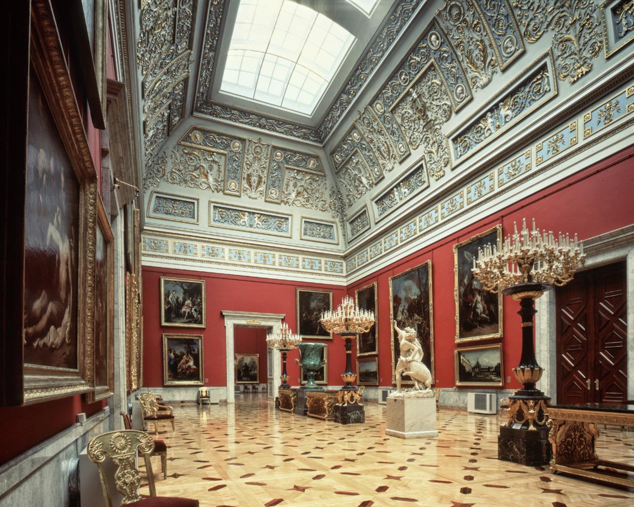 Salle Italienne, Musée de l'Ermitage - Saint-Pétersbourg 2008