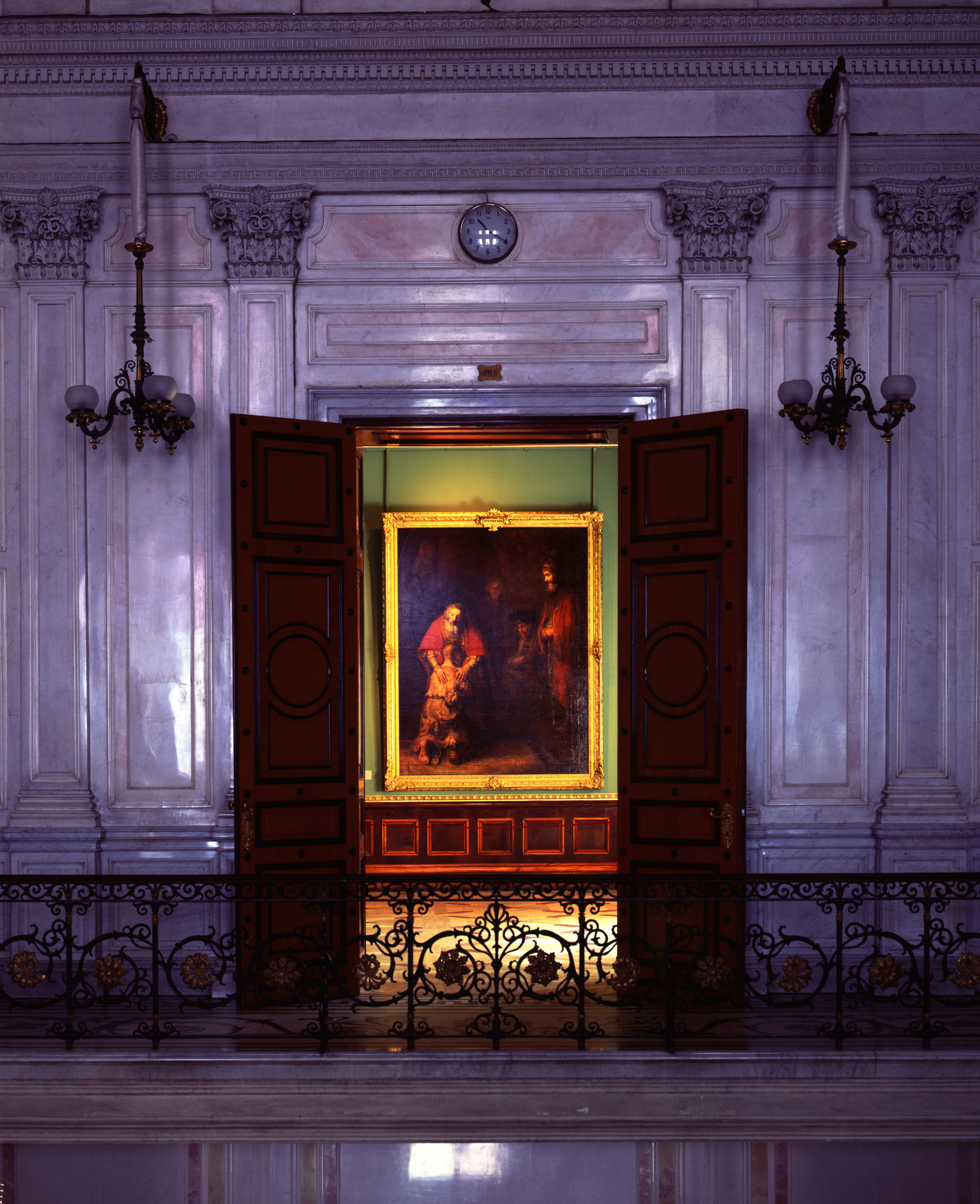 The Return of the Prodigal Son (Rembrandt), State Hermitage - Saint Petersburg , Russia (1995)