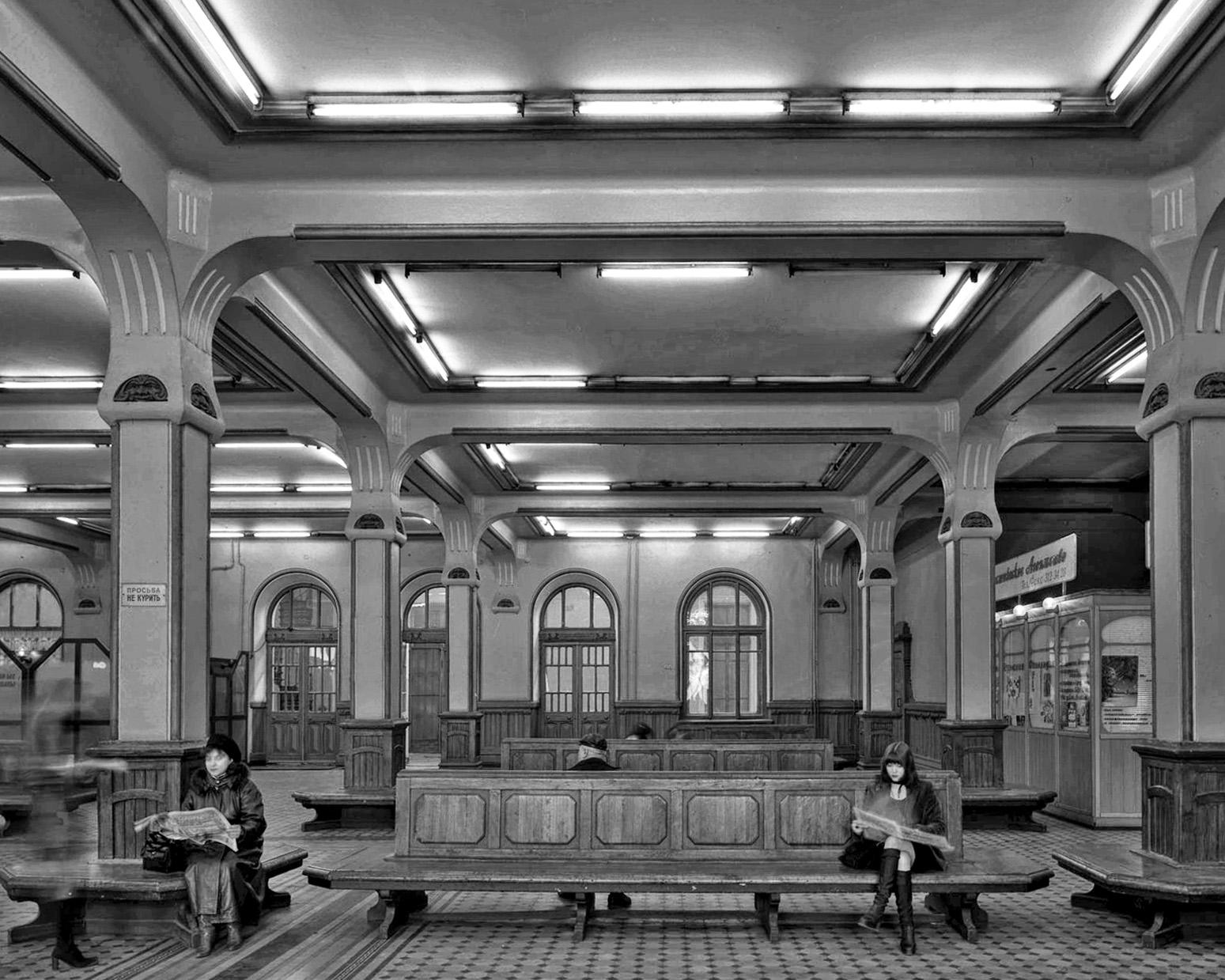 Underground Metro Hall - Saint Petersburg 2008
