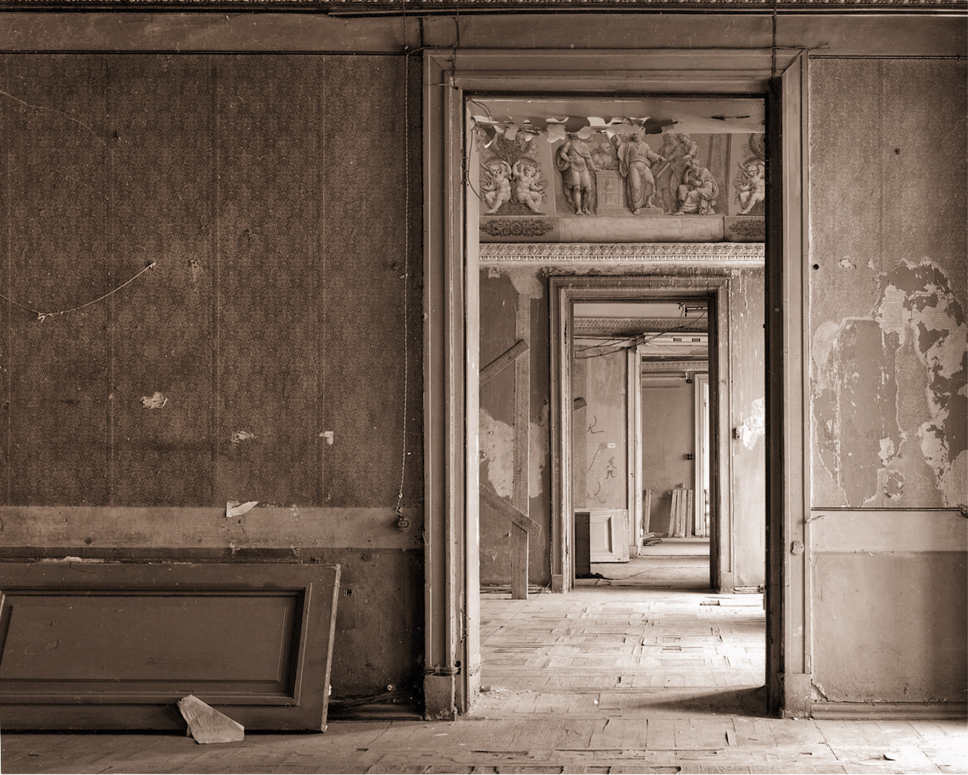 Door, Ermitage - Saint Petersburg