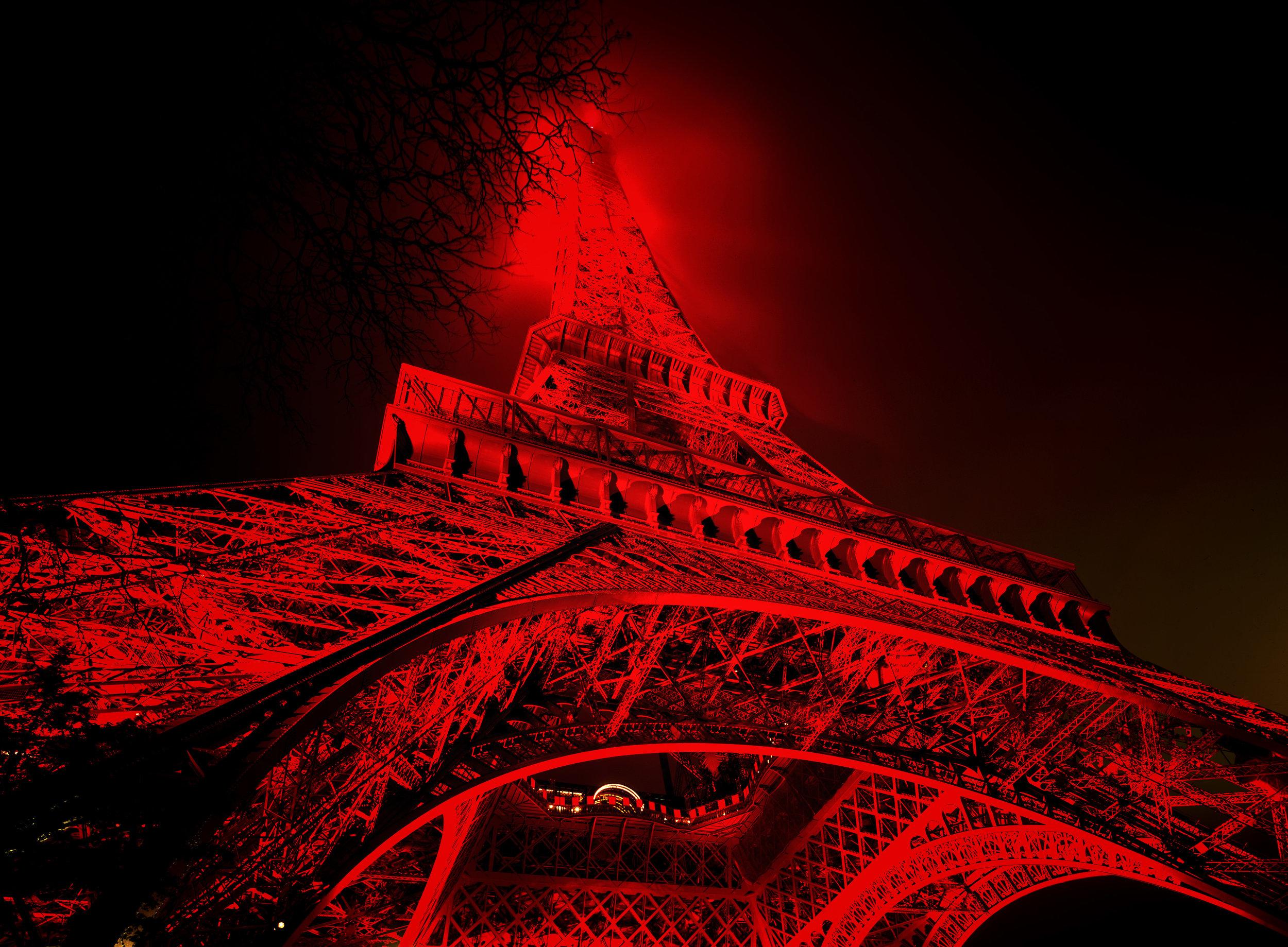 Tour Eiffel Rouge II - Paris (2002)
