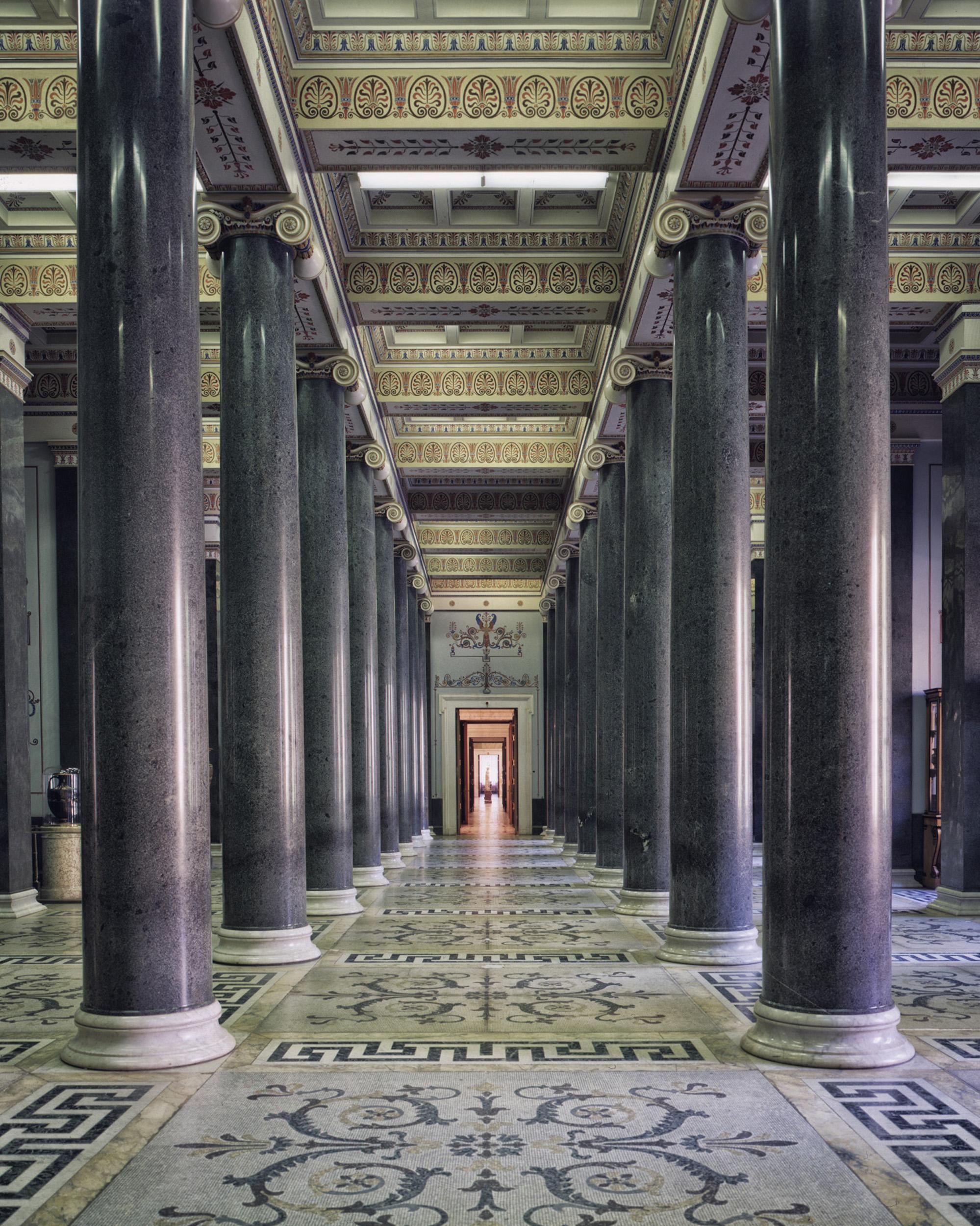 The Twenty-Column Hall, State Hermitage - Saint-Petersburg , Russia (1995)